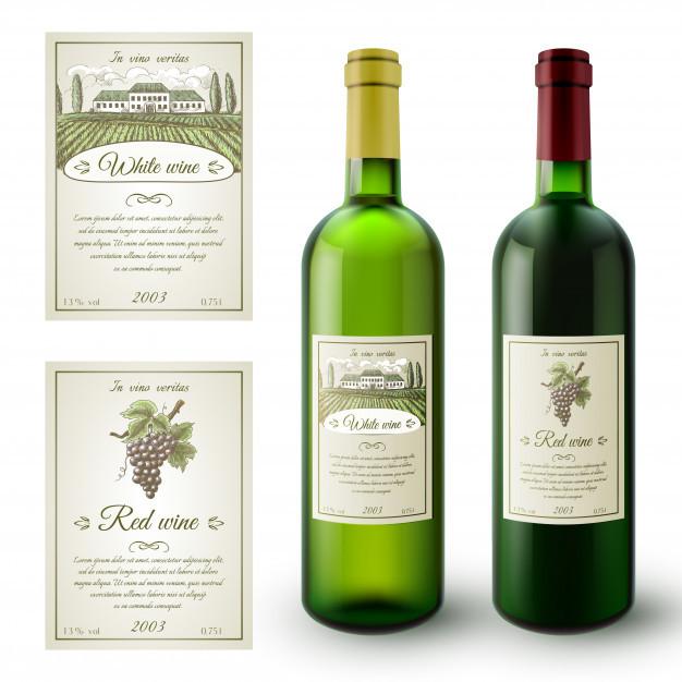 Les Liens De Létiquette De Vin Marque Alcoolcom
